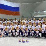 Победа сборной девочек в третьем этапе Первенства России